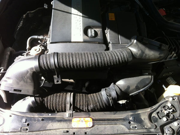 Replace Intake Hose With Aluminum On C230 Mbworld Org Forums